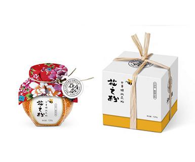哈尔滨花之粉包装设计