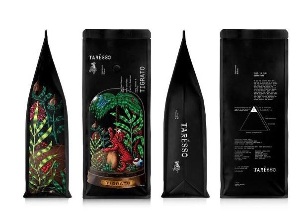 针对咖啡包装的设计艺术化的方法